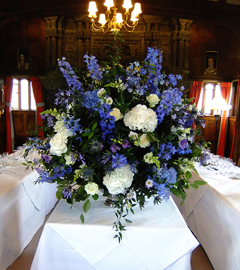 luxury floral table arrangement